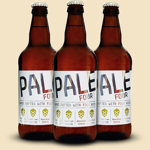 Pale Four Bottles